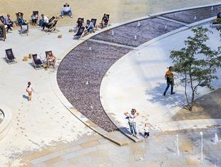Plac po nowemu – o nowej przestrzeni publicznej wokół Warsaw Spire Krzysztof Domaradzki