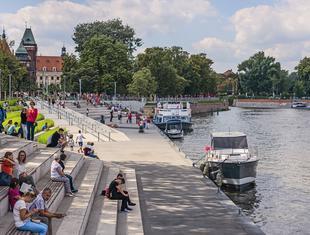 Nowe relacje z rzeką – o projekcie bulwarach nad Odrą Piotr Żuraw