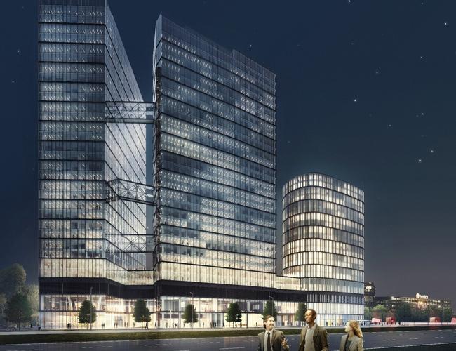 The Warsaw HUB – kompleks nowoczesnych wieżowców w Warszawie