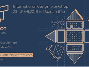 Sukkot - let's build a tent! Międzynarodowe warsztaty w Poznaniu